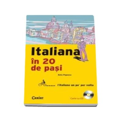 ITALIANA IN 20 DE PASI (carte cu CD)