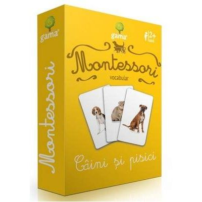 Montessori, Vocabular - Caini si pisici