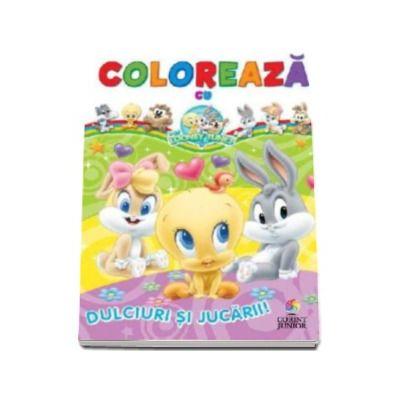 Coloreaza cu Baby Looney Tunes - Dulciuri si jucarii (Looney Tunes Baby)
