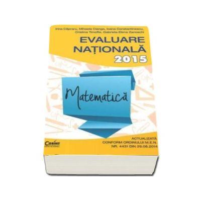 Irina Capraru, Evaluare nationala 2015 Matematica