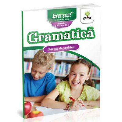 Gramatica. Partile de vorbire - Clasele III si IV