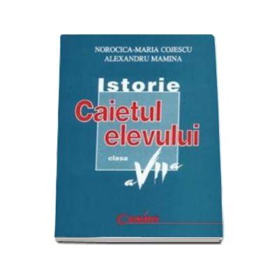 Istorie, caietul elevului clasa a VII-a