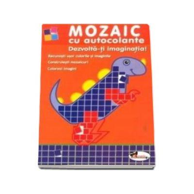 Mozaic cu autocolante - Dezvolta-ti imaginatia
