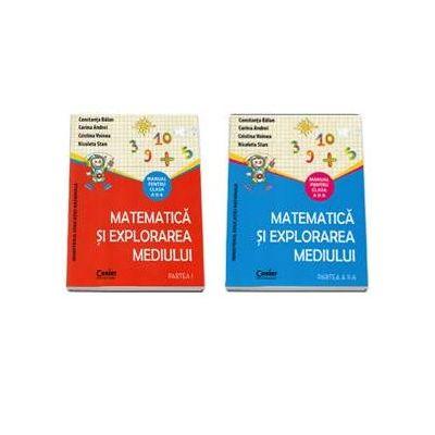 Matematica si explorarea mediului, manual pentru clasa a II-a Semestrul I si Semestrul al II-lea. Contine editia digitala - Constanta Balan