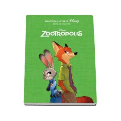 Disney - Zootropolis - Biblioteca ilustrata