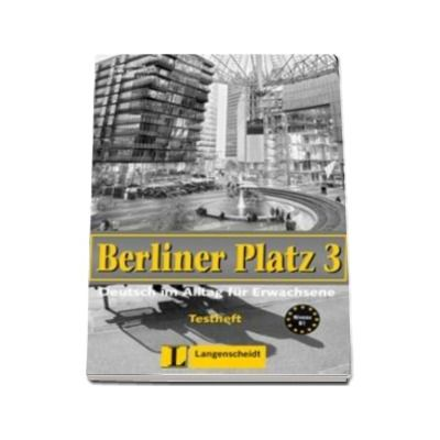 Berliner Platz 3 Testheft Zu Band 1 Und 2 mit audio-CD - Pentru clasa a XI-a L2