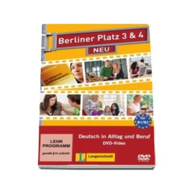 Berliner Platz, Band 3 und 4 - Video-DVD - DVD pentru clasa a XI-a L2