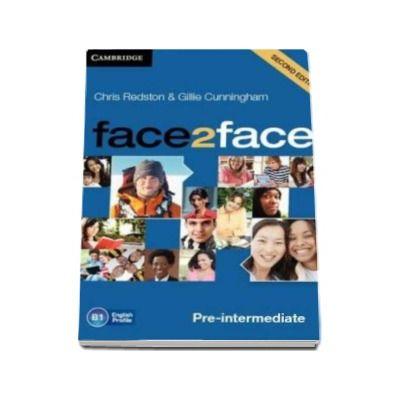 Chris Redston - Face2Face 2nd Edition Pre-intermediate Class Audio CDs (3) - Pentru clasa a XI-a