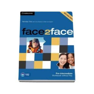 Chris Redston - Face2Face 2nd Edition Pre-intermediate Workbook without Key - Caietul elevului pentru clasa a XI-a (Fara cheie)
