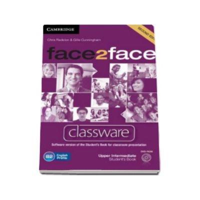 Chris Redston - Face2Face Upper Intermediate 2nd Edition Classware DVD-ROM - DVD pentru clasa a XII-a L2