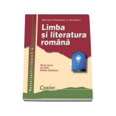 Limba si literatura romana manual pentru clasa a X-a - Marin Iancu