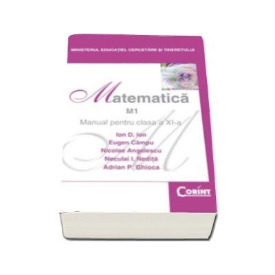 Matematica manual, profil M1, pentru clasa a XI-a (Ion D. Ion)
