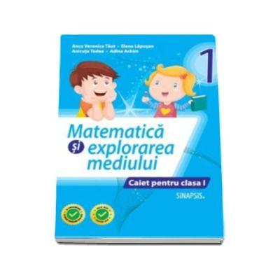 Matematica si explorarea mediului caiet pentru clasa I Anca Veronica Taut (Editie 2016)