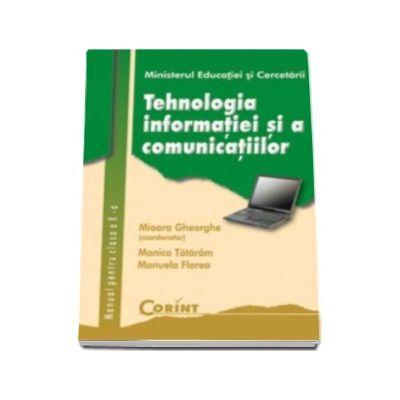 Tehnologia informatiei si a comunicatiilor manual pentru clasa a X-a (Mioara Gheorghe)