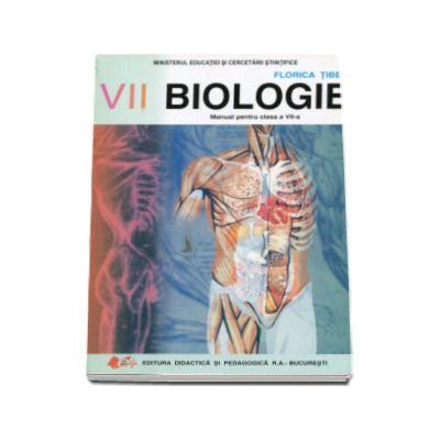 Biologie, manual pentru clasa a VII-a - Prof. gr. I - Florica Tibea
