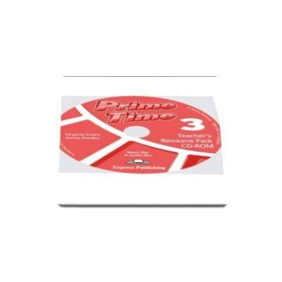 Jenny Dooley - Curs pentru limba engleza. Prime Time 3, Teachers Resource Pack CD-ROM, pentru clasa a VI-a