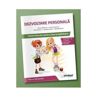 Stefan Pacearca - Dezvoltare personala, caietul elevului pentru clasa pregatitoare