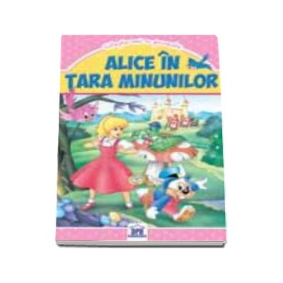Alice in tara minunilor - Carte de buzunar ilustrata