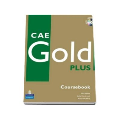 CAE Gold Plus (Coursebook). Manual pentru clasele, a XI-a L1, XII-a - L2 - with iTests