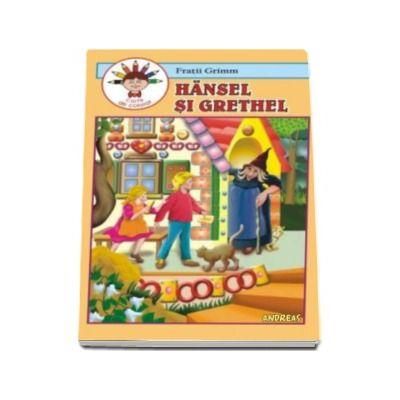 Hansel si Grethel. Repovestire dupa Fratii Grimm - Carte de colorat