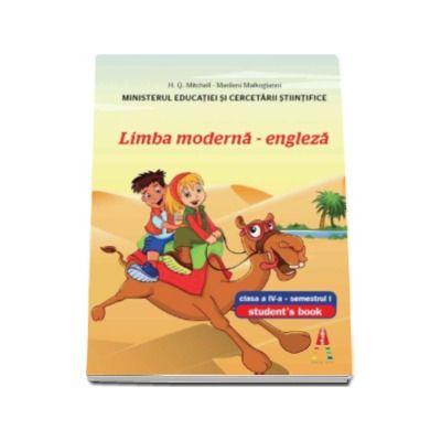Limba moderna engleza, manual pentru clasa a IV-a, semestrul I - Contine editia digitala (Smart Junior 4)