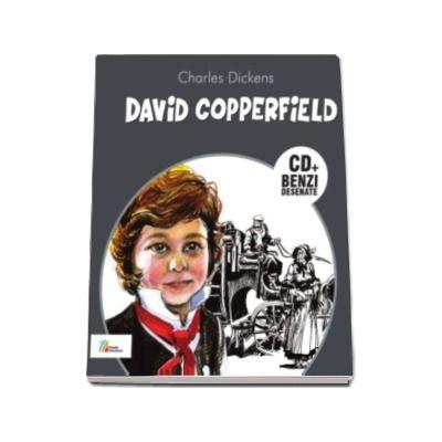 Charles Dickens - David Copperfield - Carte cu CD si benzi desenate