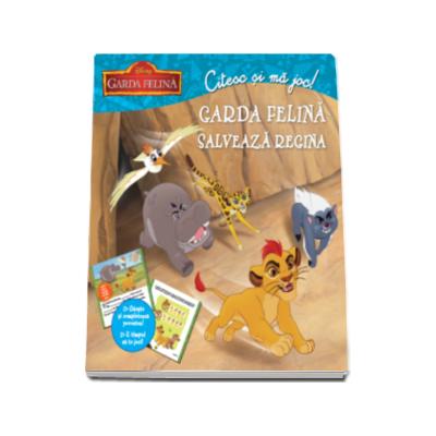 Garda felina salveaza regina - Citesc si ma joc (Disney)