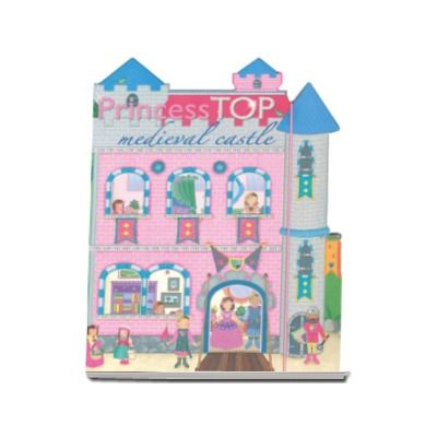 Medieval castle - Princess TOP (bleu)