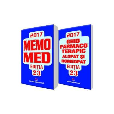 Dumitru Dobrescu - MemoMed 2017, Editia XXIII - Volumele I si II