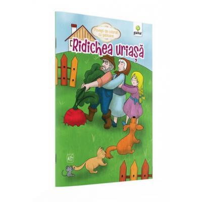 Ridichea uriasa - Povesti de colorat cu sabloane