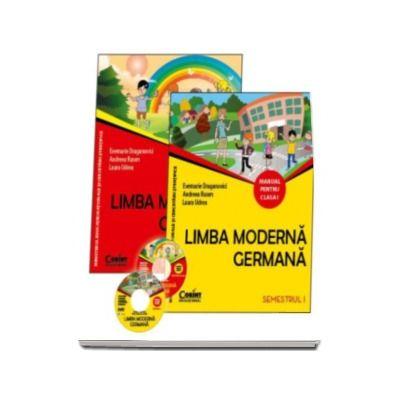 Evemarie Draganovici - Limba moderna germana manual pentru clasa I, semestrul I si semestrul al II-lea (Contine editia digitala)