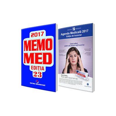 Pachetul Farmacistului, pentru anul 2017. Agenda Medicala 2017 si MemoMed 2017