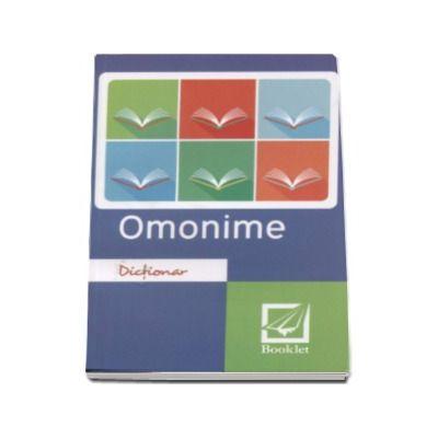 Dictionar de omonime. Editia a II-a, revizuita