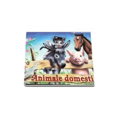 Animale domestice - pliant cartonat cu ilustratii color