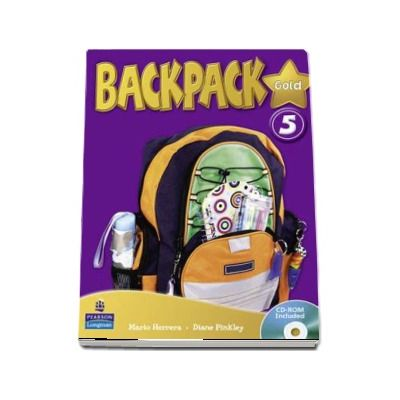 Mario Herrera - Backpack Gold 5 Students Book - CD-ROM Included