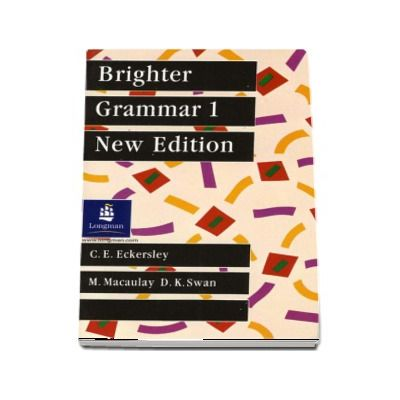 Brighter Grammar Book 1, New Edition (C E Eckersley)