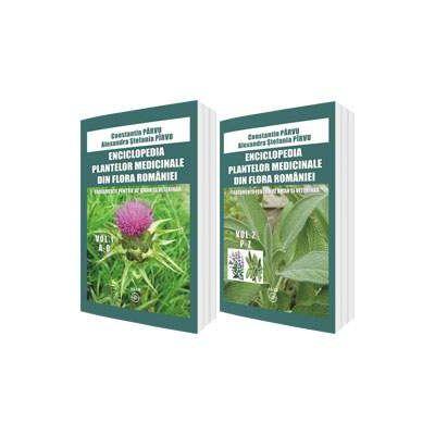 Enciclopedia plantelor medicinale din flora Romaniei. Tratamente pentru uz uman si veterinar (Set 2 volume, A-O si P-Z)