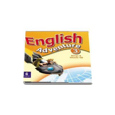 English Adventure Level 3 Song and Chants CD (Izabella Hearn)