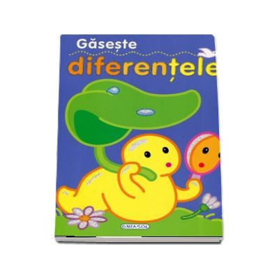 Gaseste diferentele - Carte cu ilustratii color