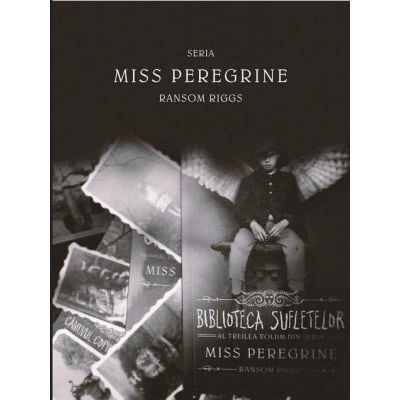 Pachet Miss Peregrine cu set de 10 fotografii - Ransom Riggs