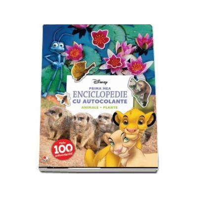 Disney, Prima mea enciclopedie cu autocolante. Animale. Plante - (Peste 100 de autocolante)