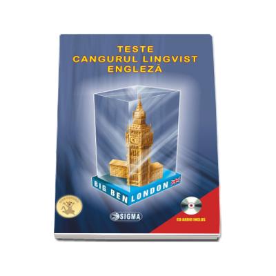 Teste Cangurul Lingvist - Limba Engleza. Culegere de teste grila cu raspunsuri (CD audio inclus)