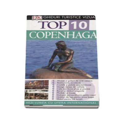 Antonia Cunningham, Top 10 Copenhaga. Ghiduri turistice vizuale