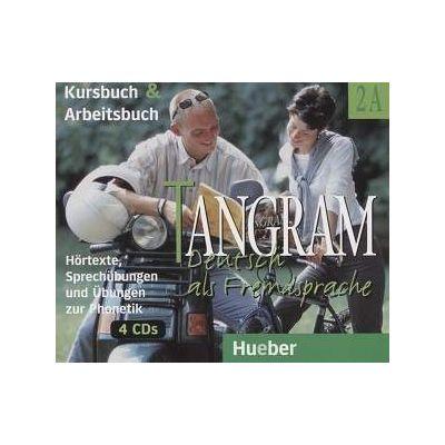 Tangram 2A, Kursbuch und Arbeitsbuch 4 CDs (Hortexte, Sprechubungen und ubungen zur Phonetik)