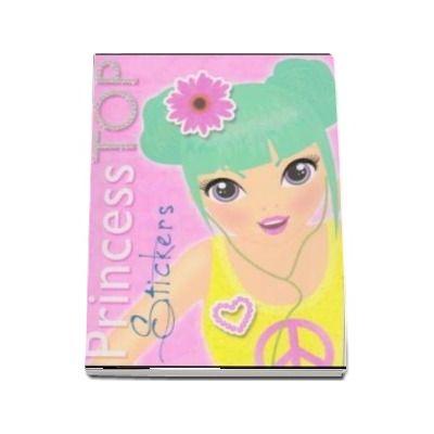 Colectia Princess TOP. Stickers (galben)