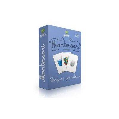 Corpuri geometrice - Montessori clasificare de Maria Montessori