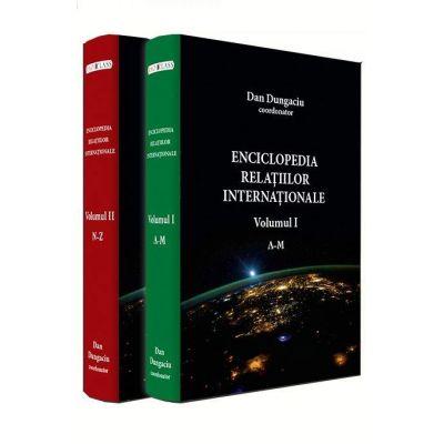 Dan Dungaciu, Enciclopedia relatiilor internationale (Volumul I si volumul II)