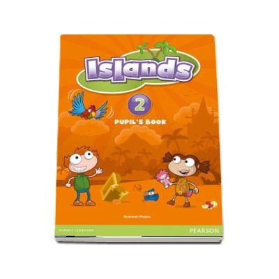 Islands Level 2 Pupils Book Plus Pin Code de Susannah Malpas