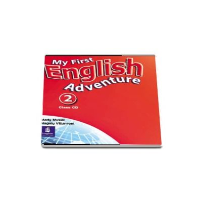 My First English Adventure 2 Class CD de Mady Musiol