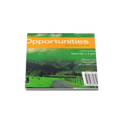 New Opportunities Intermediate Class Audio CD de Michael Harris